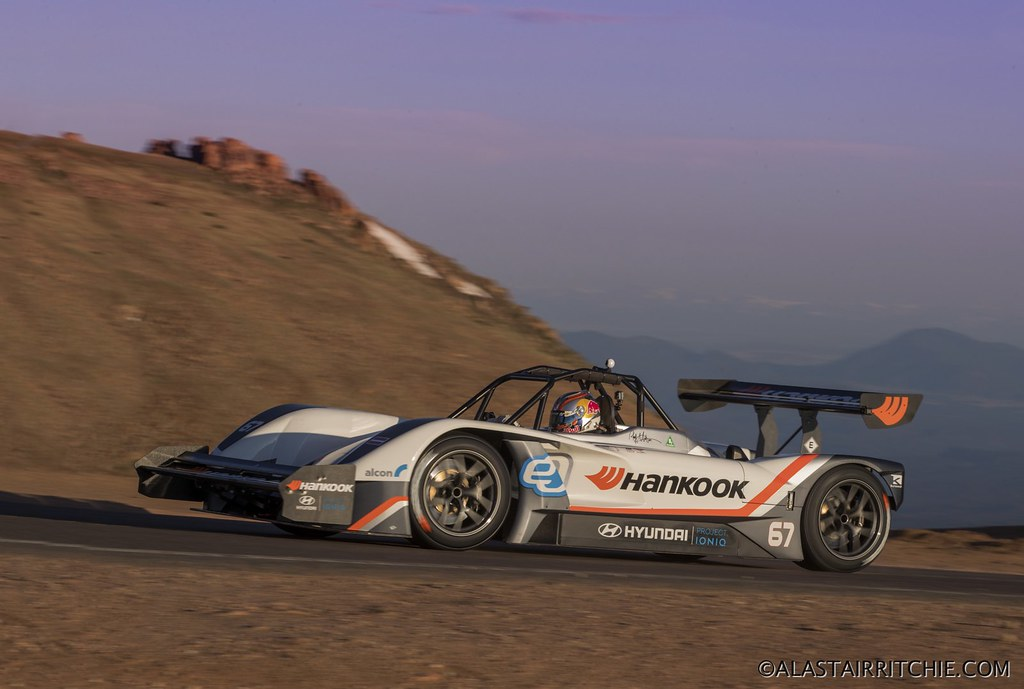Pikes Peak hillclimb car